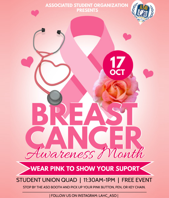 breast cancer awareness month october 17th at 11:30