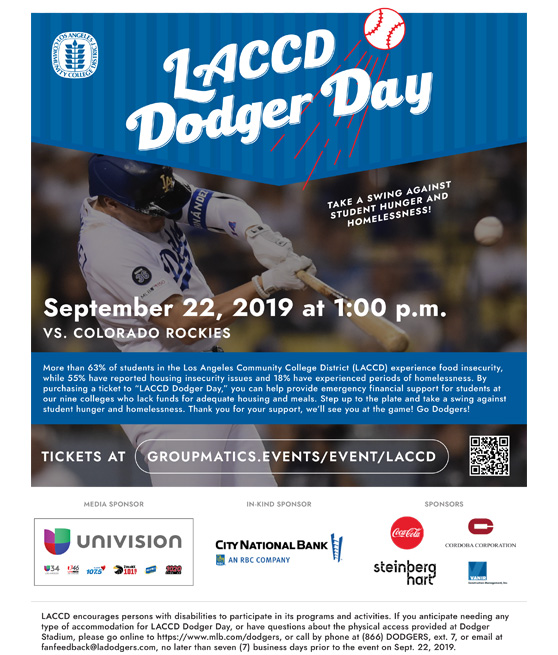 laccd dodger day 2019