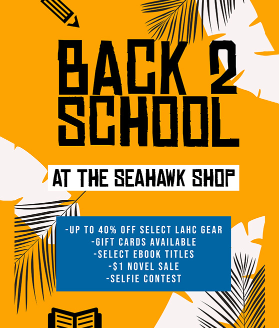 back to school bookstore flyer