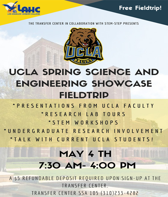ucla spring science and engineering showcase flyer